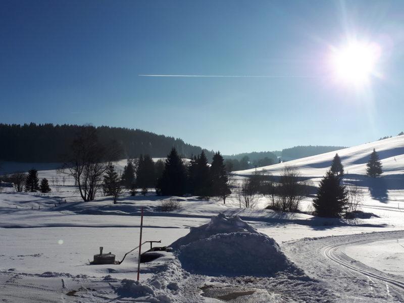 Hochtal im Winter