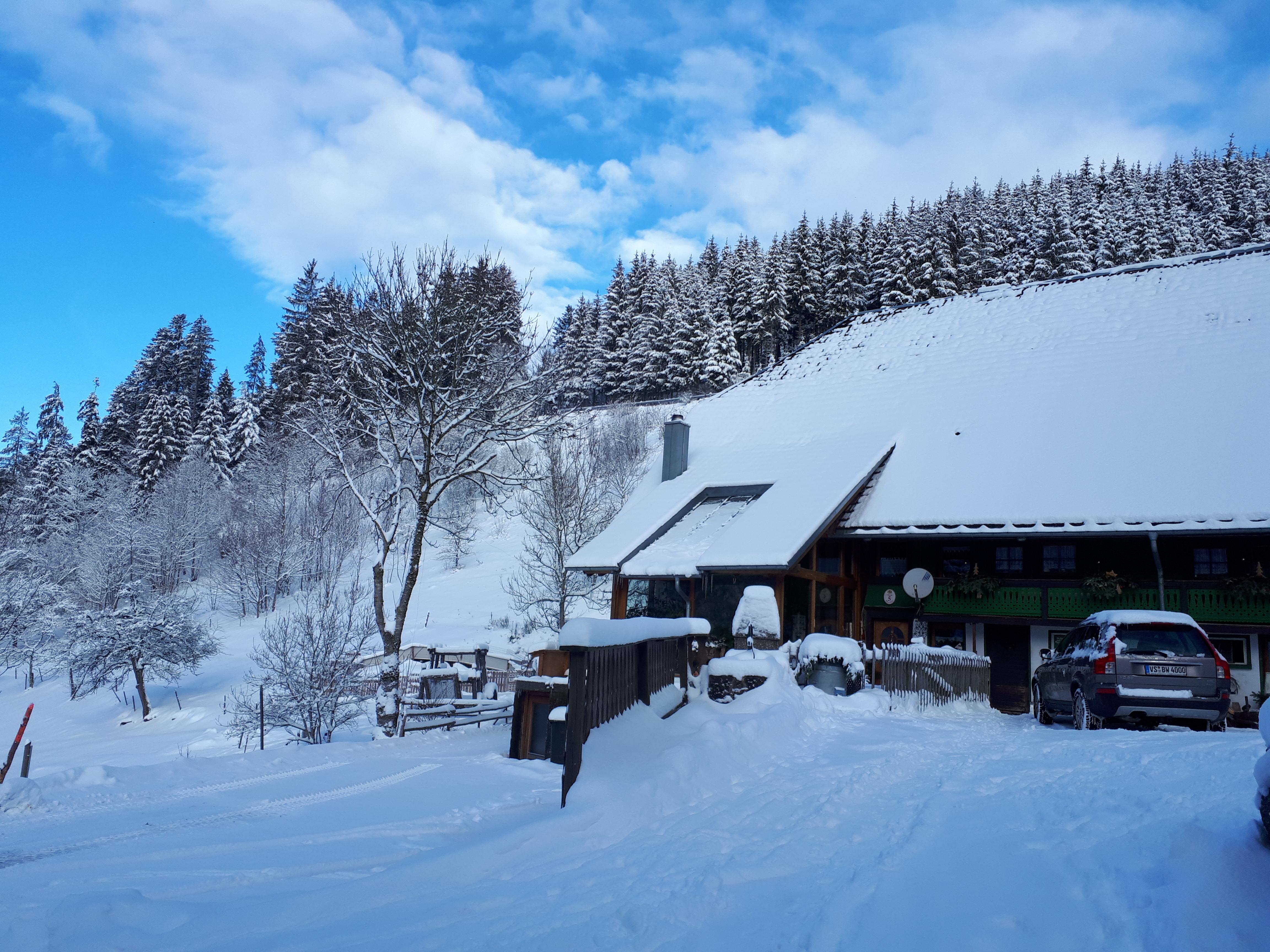 Winter auf dem Hilserhof