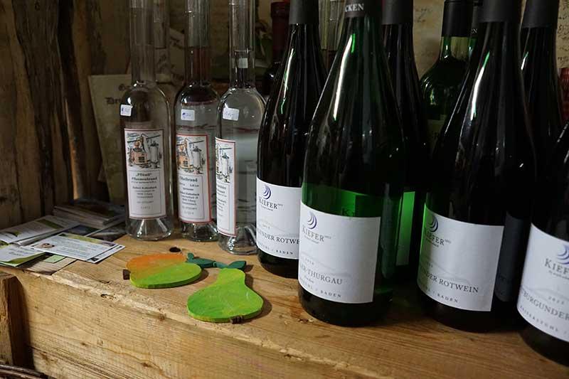Hofladen Hilserhof Schnaps und Wein