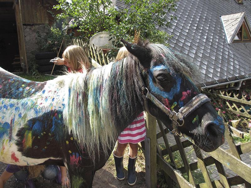 Pony Bemalen