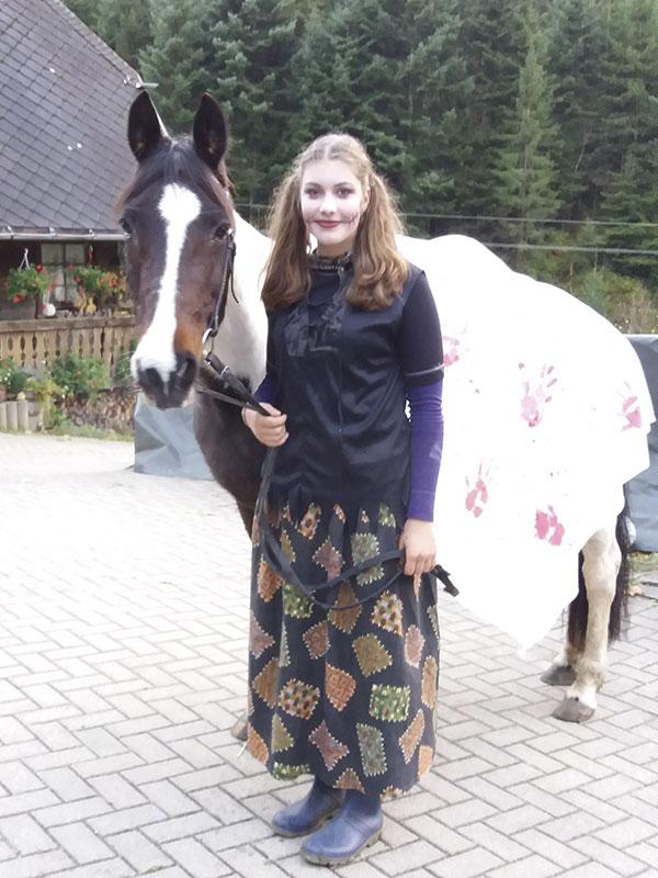 Raja an Halloween