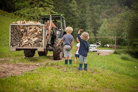 Arbeiten auf dem Bauernhof
