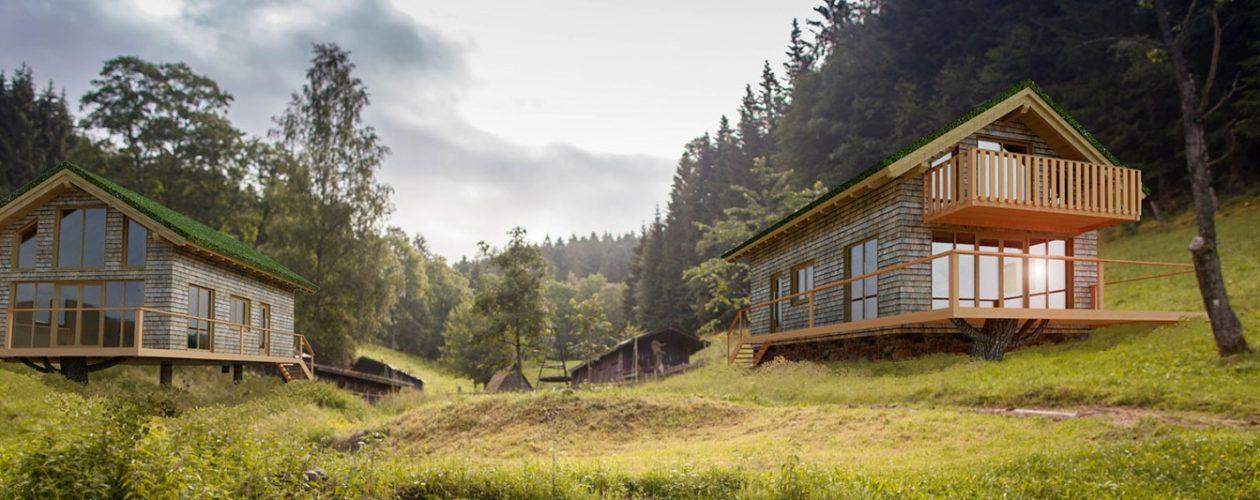 Hilser-Holz-Chalets Baubeginn im März