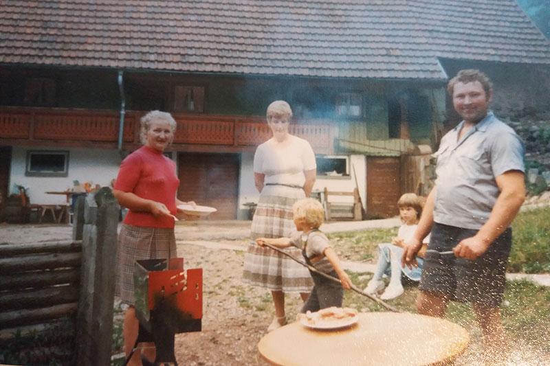 Ferien auf dem Bauernhof damals….