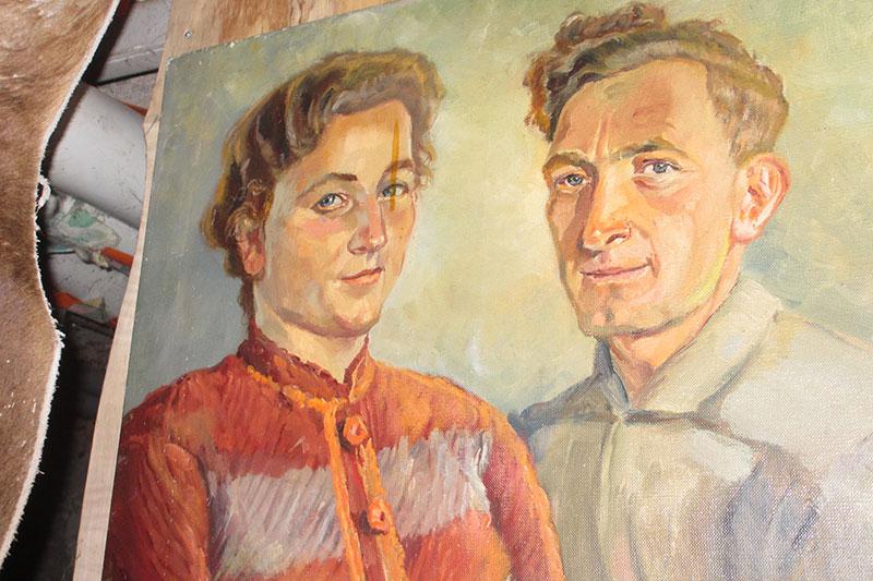 Emmi Hilser und Emil Wernet