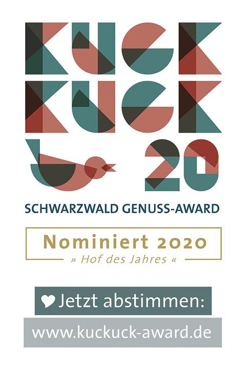 Kuckuck 20 Schwarzwald Genuss-Award